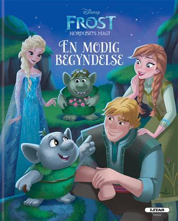 Image of   Disney Frost - Nordlysets magi - En modig begyndelse