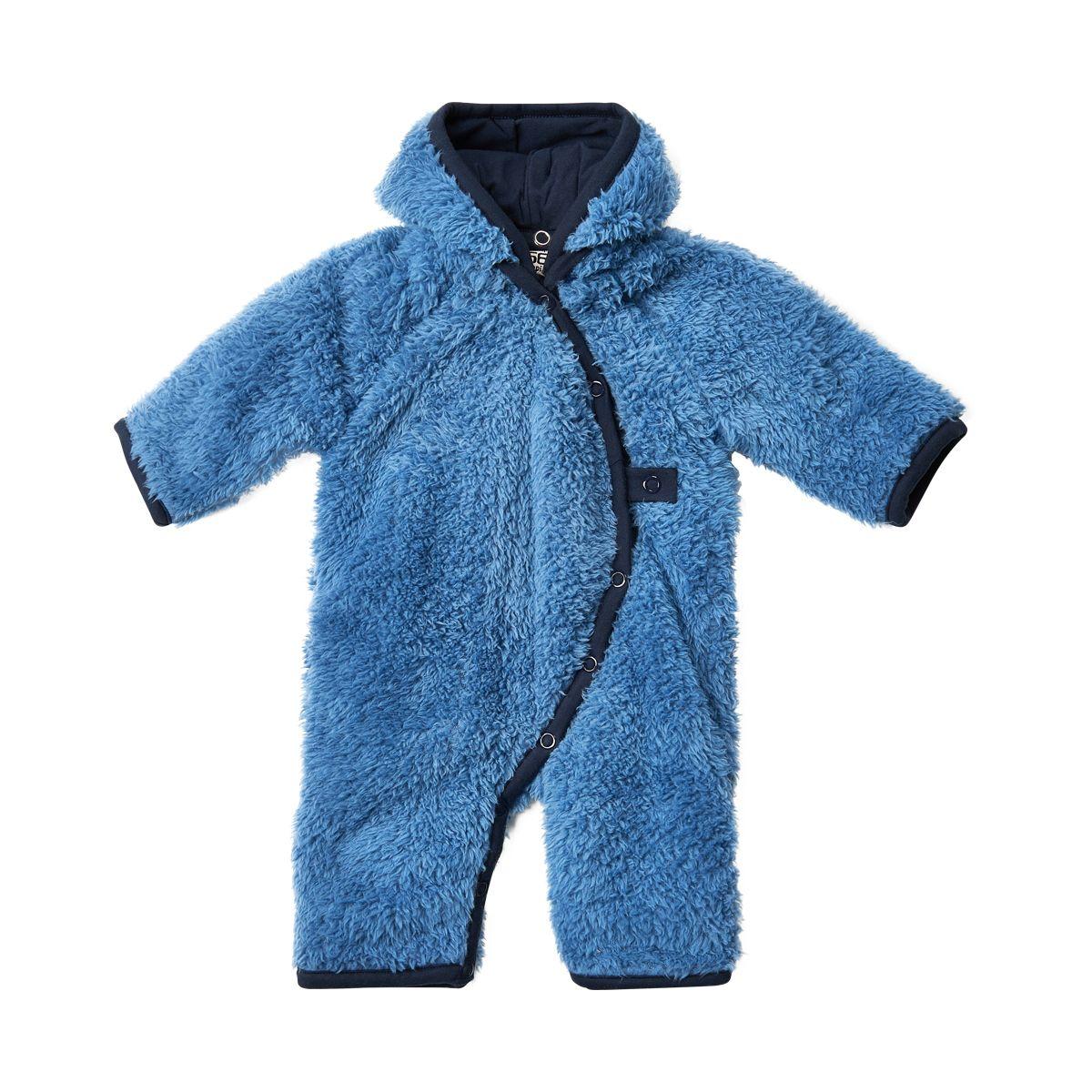 Image of   Teddy fleece dragt fra Pippi - Støvet blå