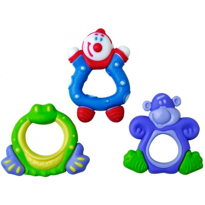 Image of Bidering fra Nuby - Hard / Soft Fun Teether (457)