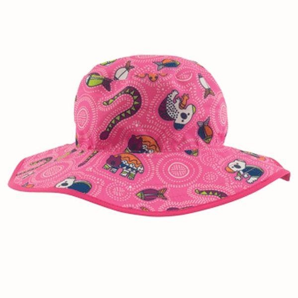 Image of   Solhat (vendbar) - Baby Banz - Pink Dreamtime