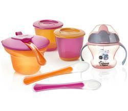 Weaning Kit fra Tommee Tippee - Pige