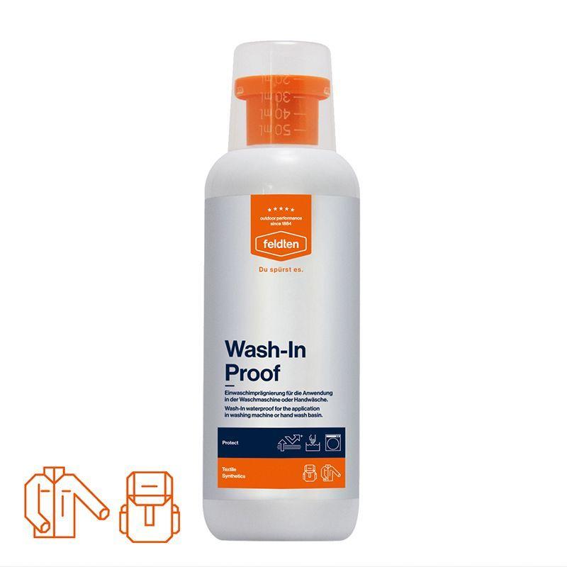 Feldten – Imprænering til overtøj - feldten wash-in proof (500 ml) fra babygear.dk