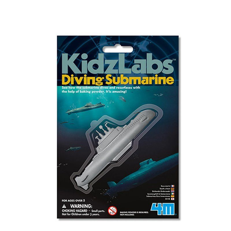 Image of Diving Submarine - KidzLabs fra 4M (4M-3212)