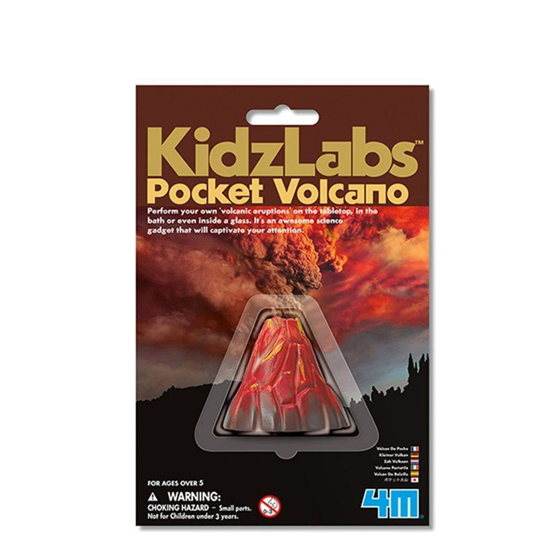 Image of Pocket Volcano - KidzLabs fra 4M (4M-3218)