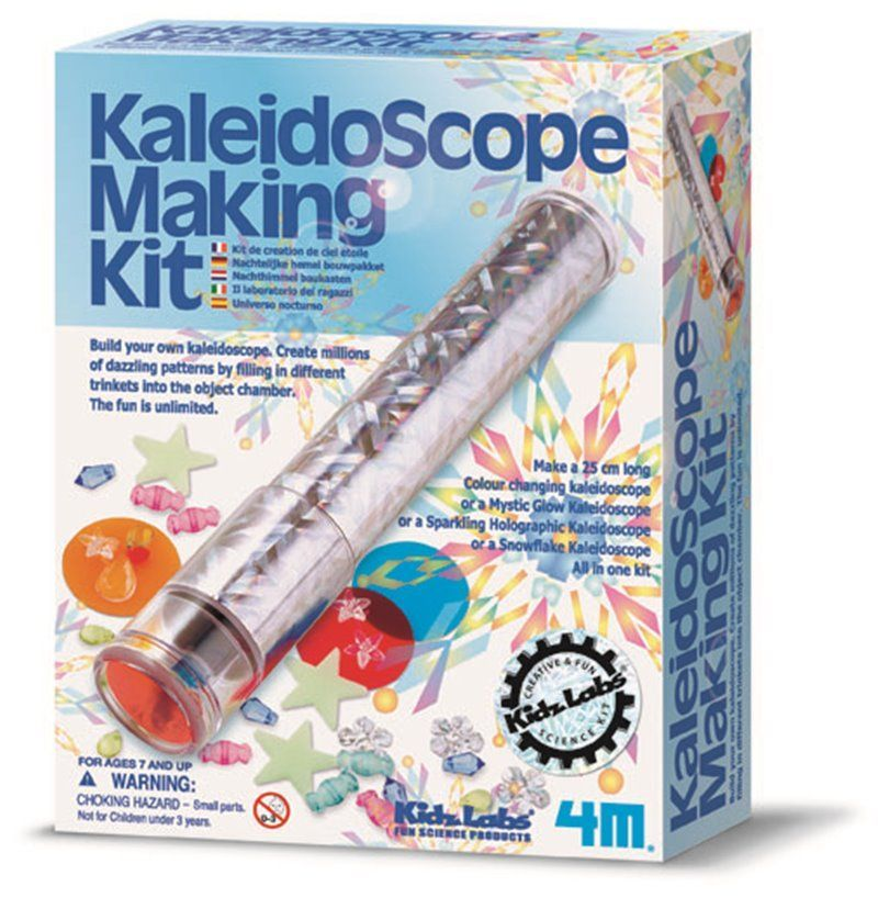 Image of Kaleidoscope Making Kit - KidzLabs fra 4M (4M-3226)