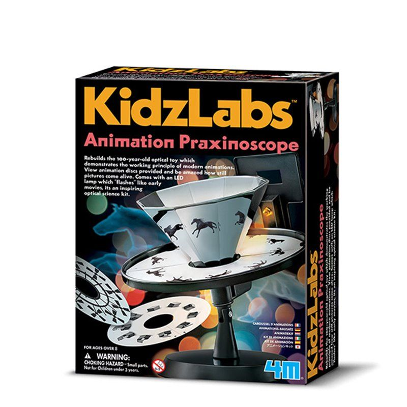 Image of Animation Praxinoscope - KidzLabs fra 4M (4M-3255)