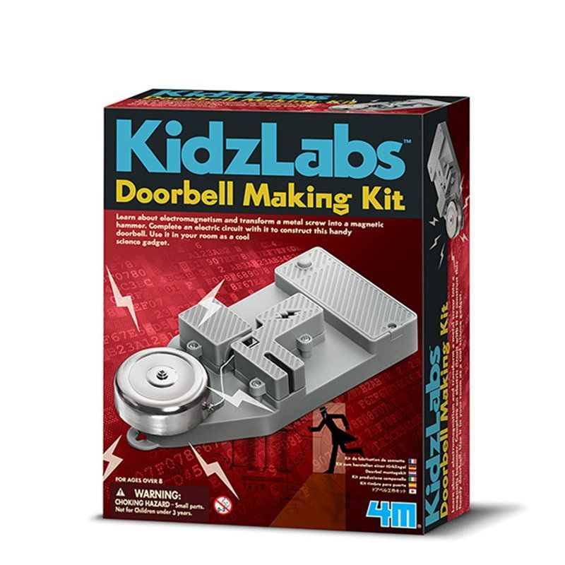 Image of Doorbell Making Kit - KidzLabs fra 4M (4M-3368)