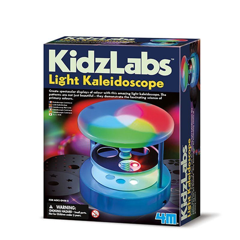Image of   Light Kaleidoscope - KidzLabs fra 4M