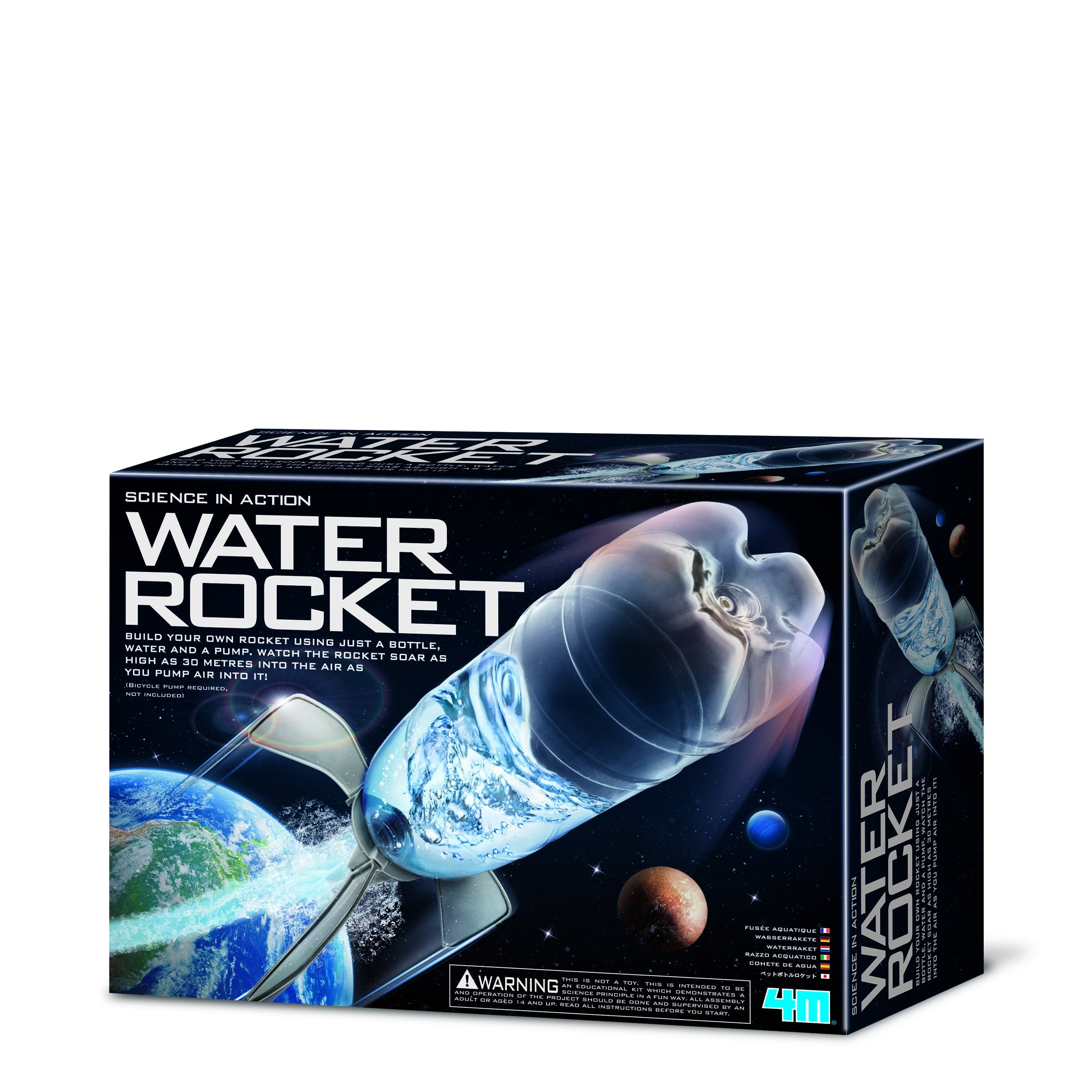 Image of   Water Rocket - Science In Action fra 4M