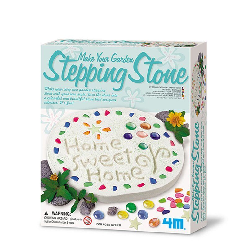 Image of Make Your Garden Stepping Stone - Gardening fra 4M (4M-4510)