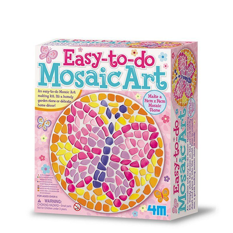 Image of Easy To Do Mosaic Art - Knitting & Sewing fra 4M (4M-4523)