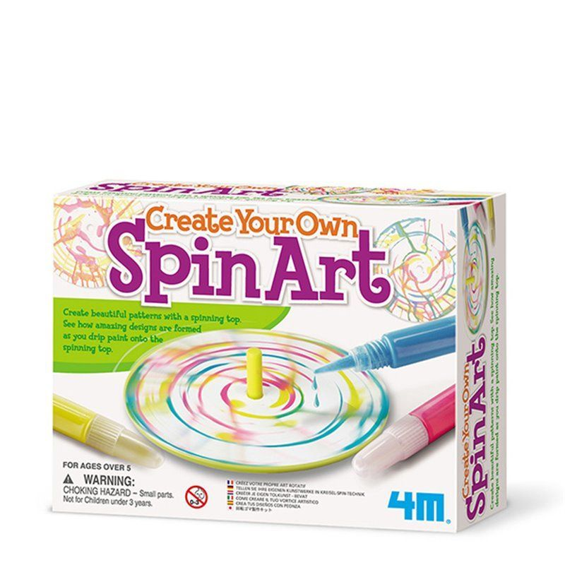 Image of Create Your Own Spin Art - Creative Craft fra 4M (4M-4545)