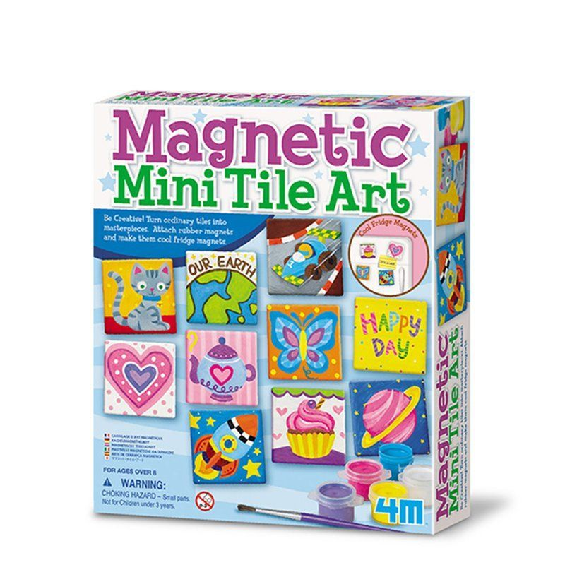 Image of Magnetic Mini tile Art - Creative Craft fra 4M (4M-4563)