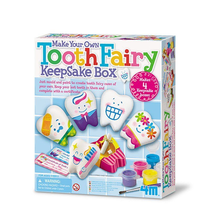Image of   Make Your Own Tooth Fairy Keepsake Box - Creative Craft fra 4M
