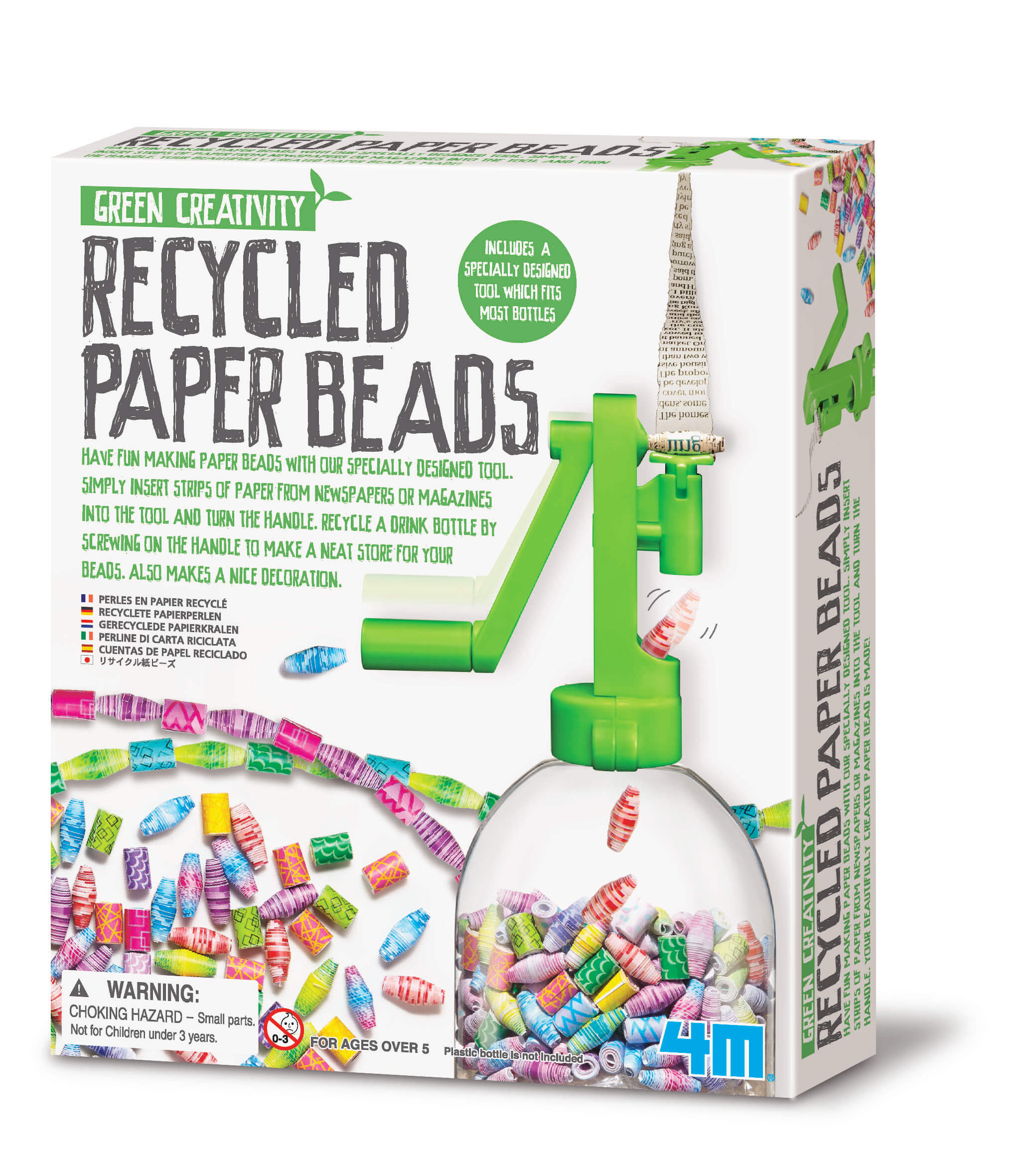 Image of Genbrugspapir Perler - Green Craft fra 4M (4M-4588)