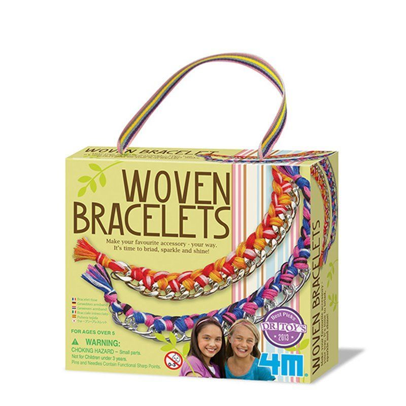 Image of   Woven Bracelets - Girl Accessories fra 4M