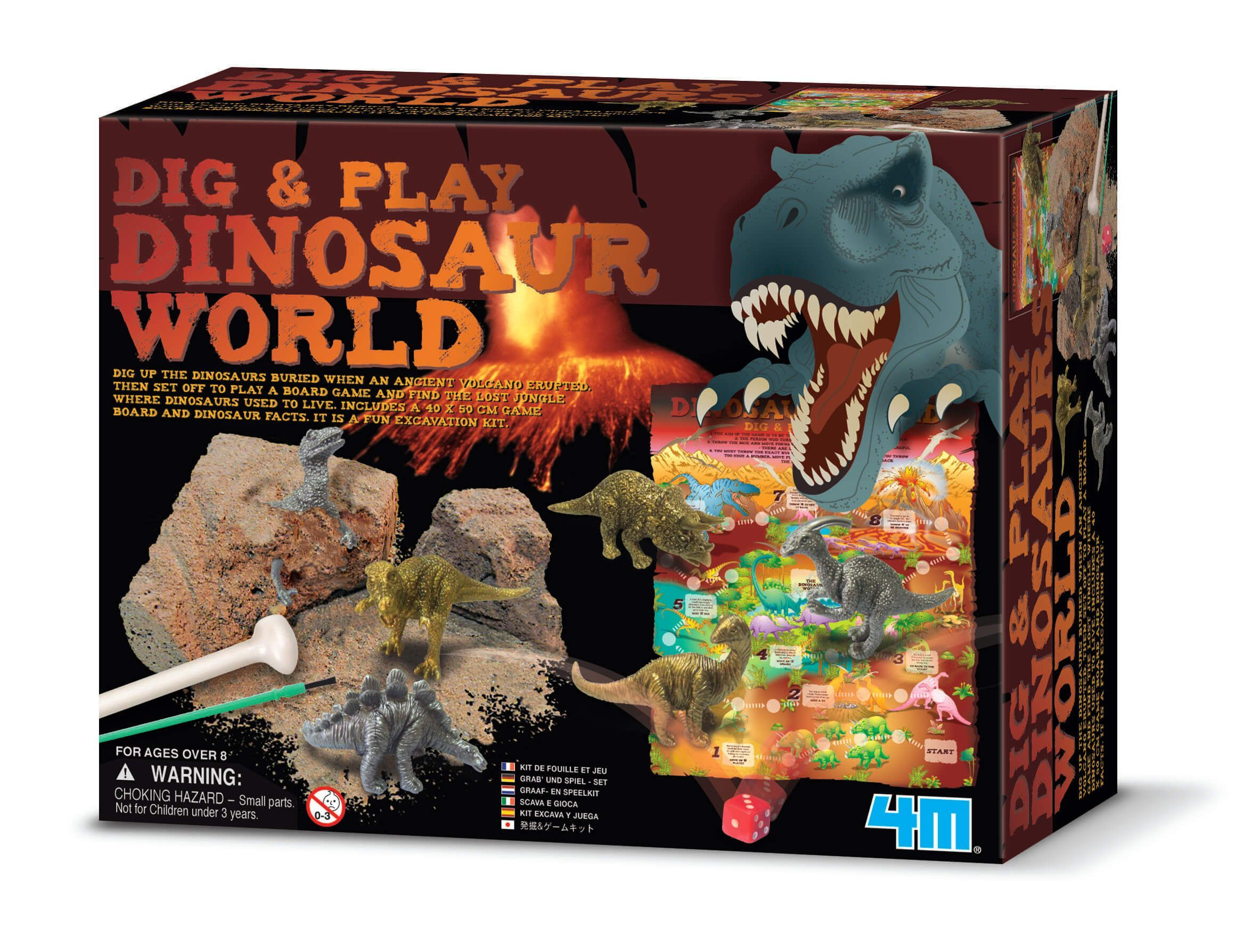 Dinosaurus verden - kidzlabs fra 4m fra 4m fra babygear.dk