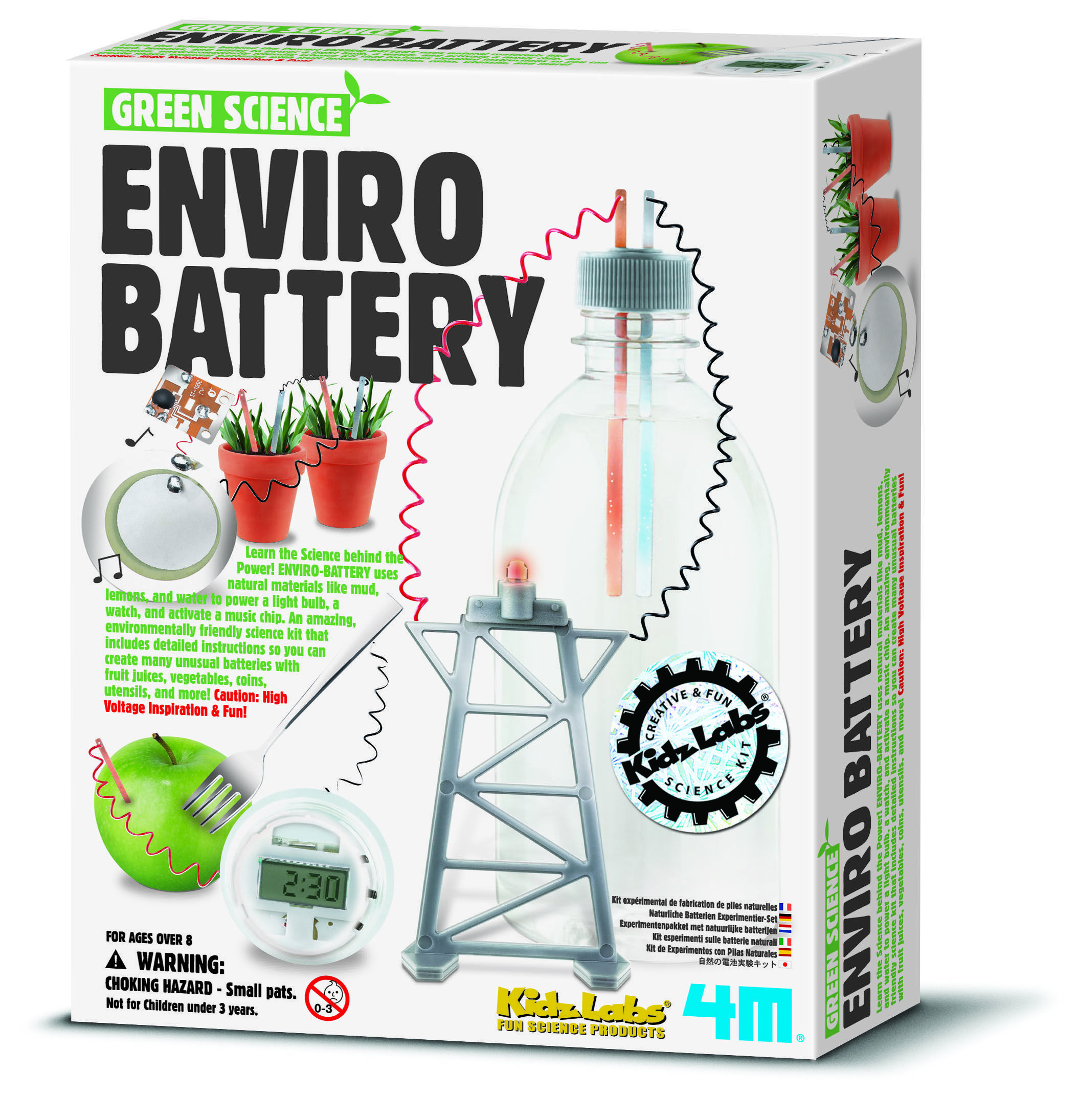 Image of Enviro batteri fra 4M-Green Science (4M-3261)