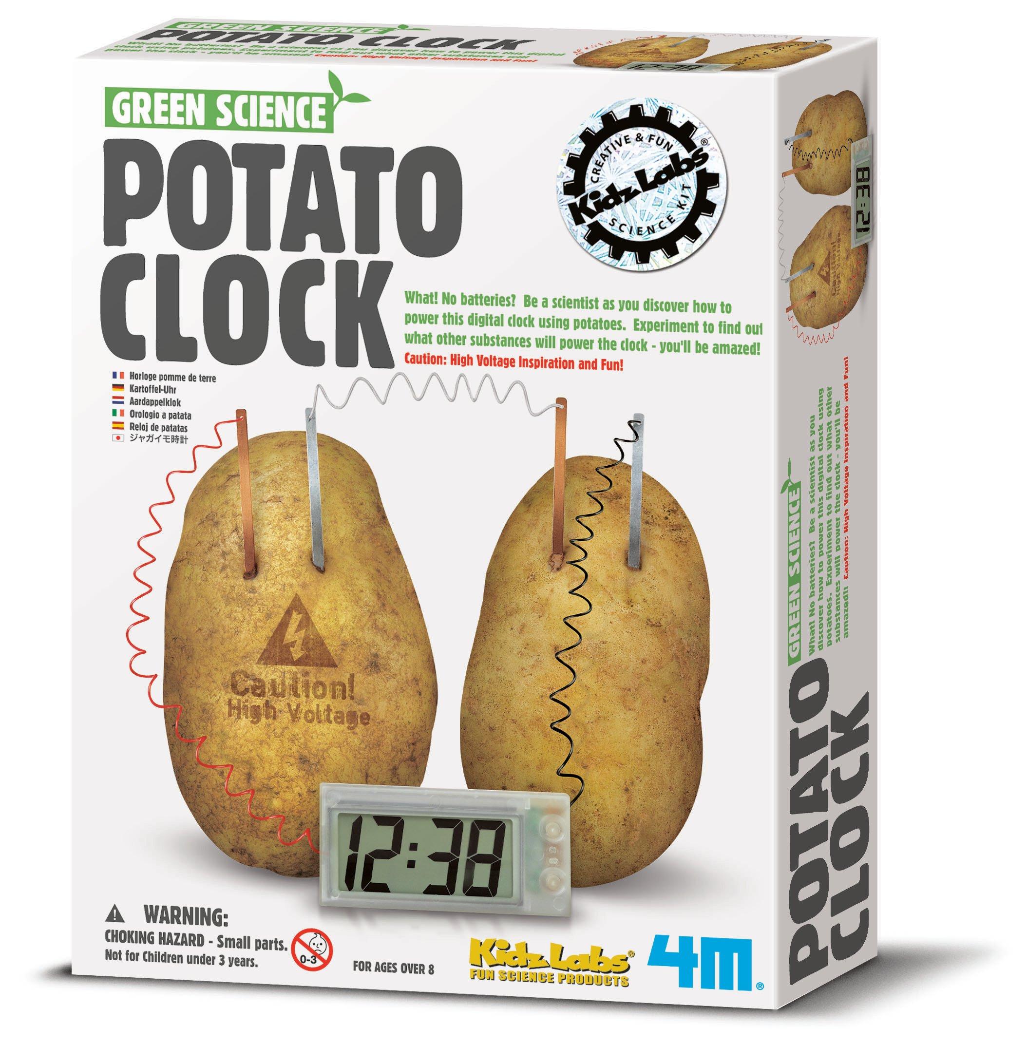 4m – Kartoffel-ur -green science fra 4m fra babygear.dk