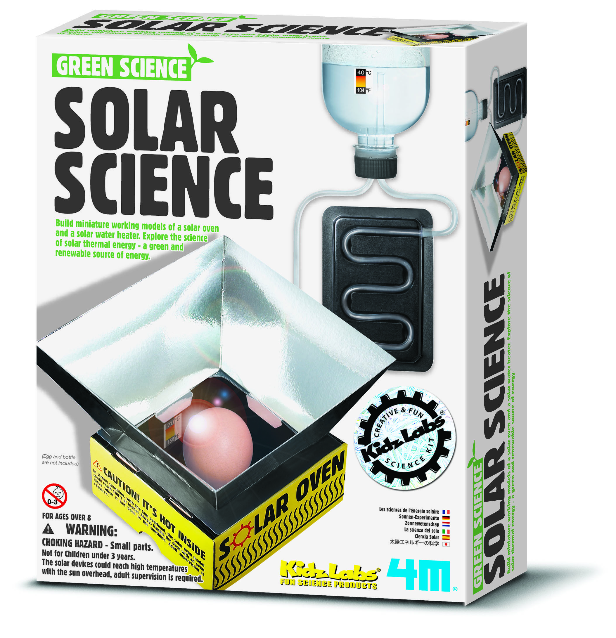 Solvidenskab -Green Science -fra 4M