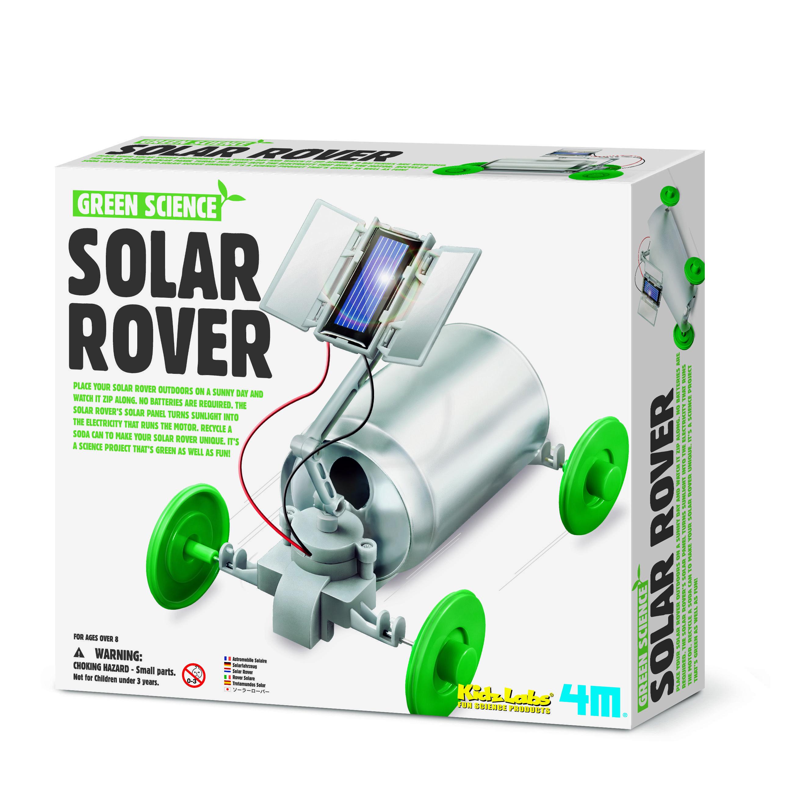 4m – Soldrevet rover - green science fra 4m fra babygear.dk