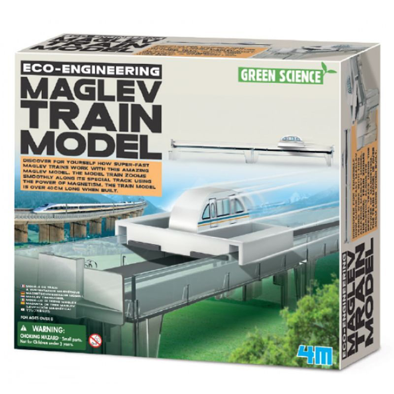 Image of Engineering - Eco Maglev Train Model fra 4M (4M-3379)