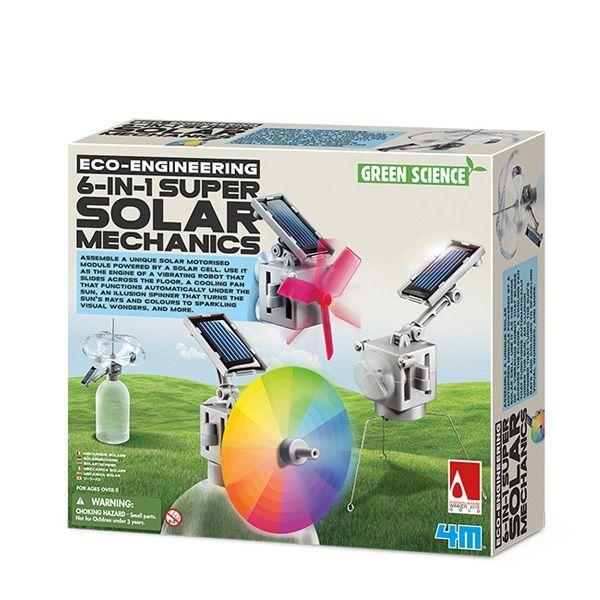 Solcelle mekanik-green science fra 4m fra 4m fra babygear.dk