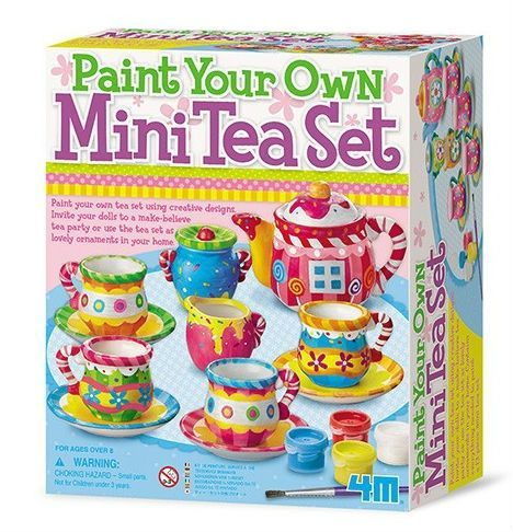 Paint Your Own Mini Tea Set - Bank Painting  fra 4M