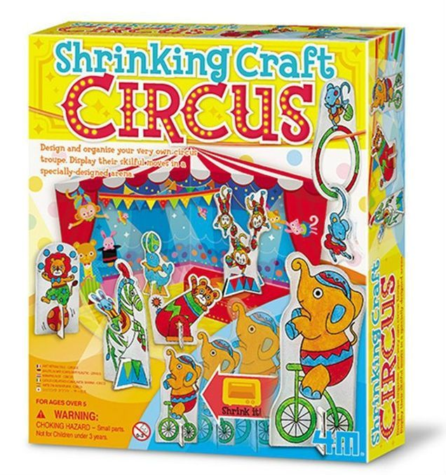 Image of   Shrinking Craft Circus - Creative Craft fra 4M