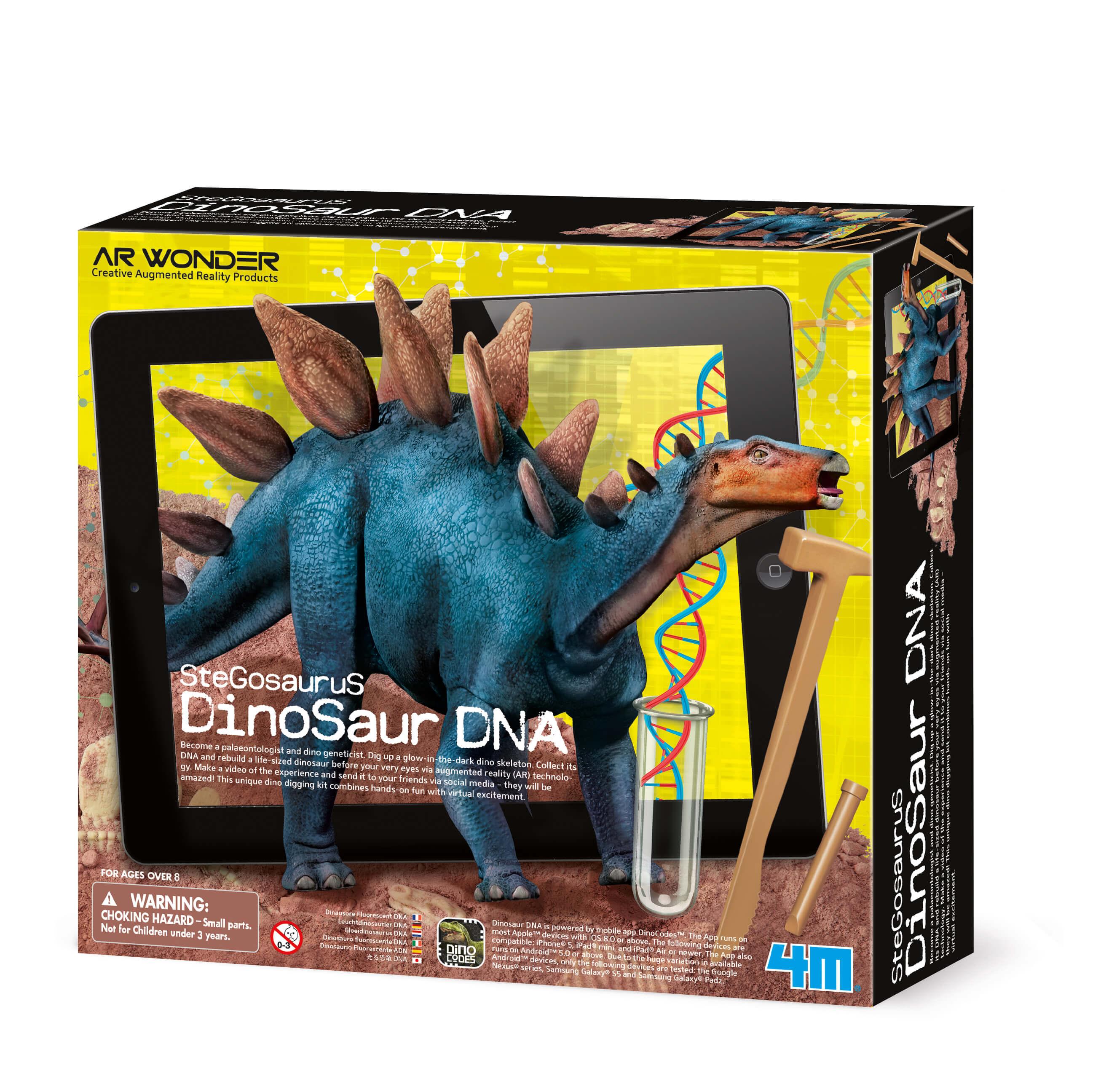 Image of   Stegosaurus - Dinosaur. DNA fra 4M