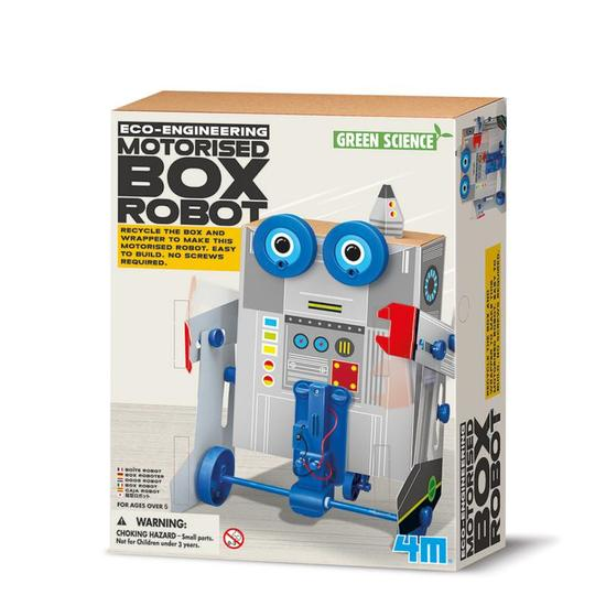 Image of Box Robot - Green Science fra 4M (4M-3389)