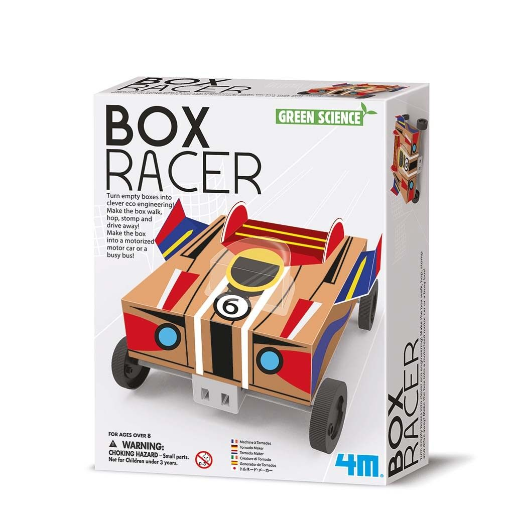 Image of Box Racer - Green Science fra 4M (4M-3390)
