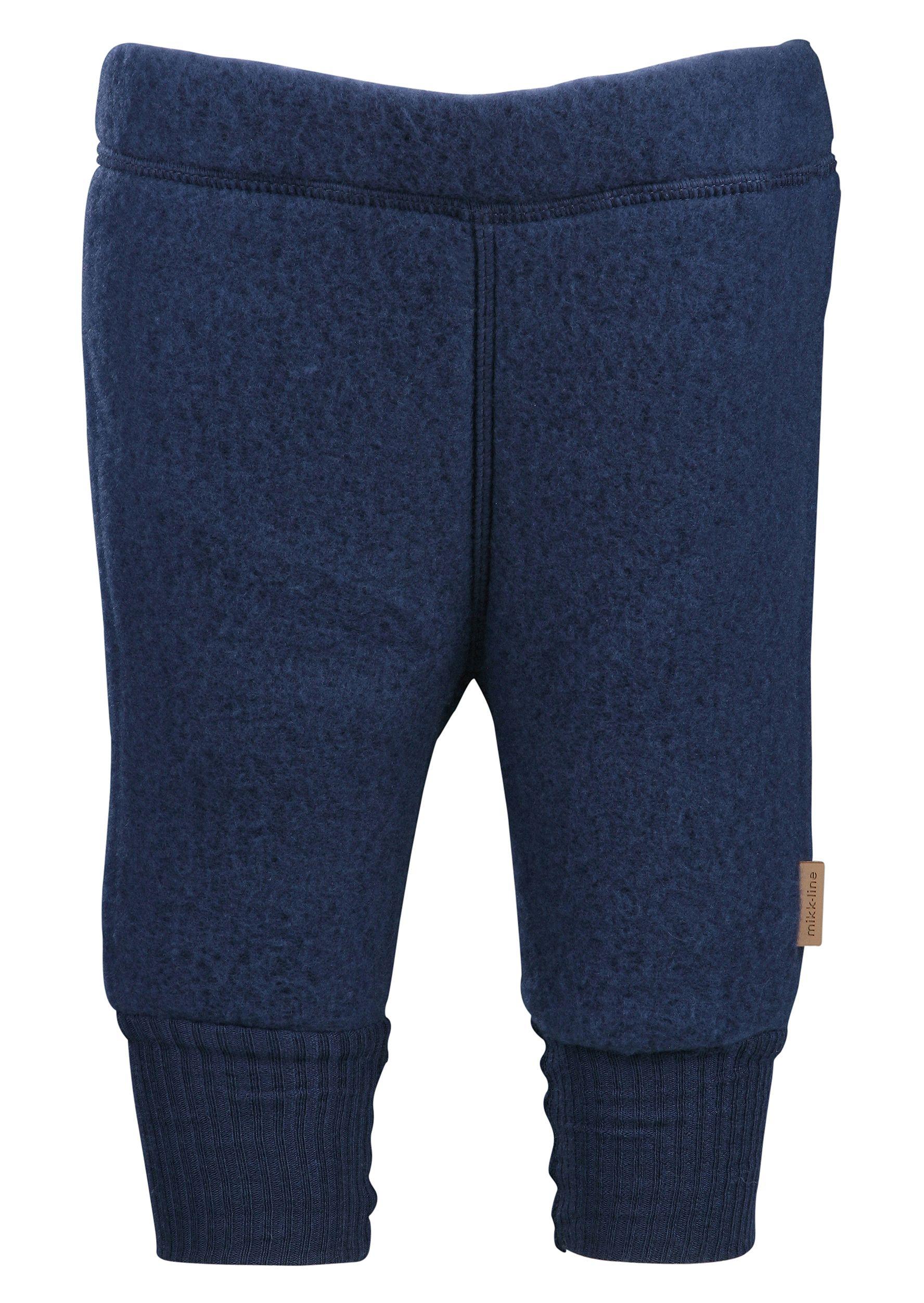 Billede af Uldbukser fra Mikk-Line - Mørkeblå