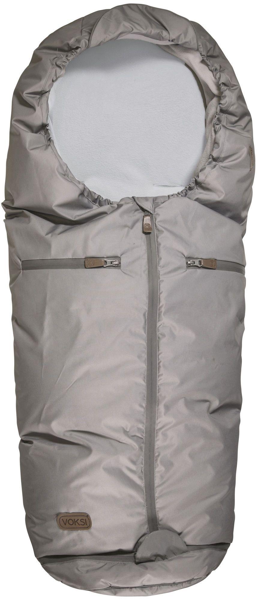 Kørepose fra Voksi - Uld og dun - Active - Mountain Grey (0-5 år)