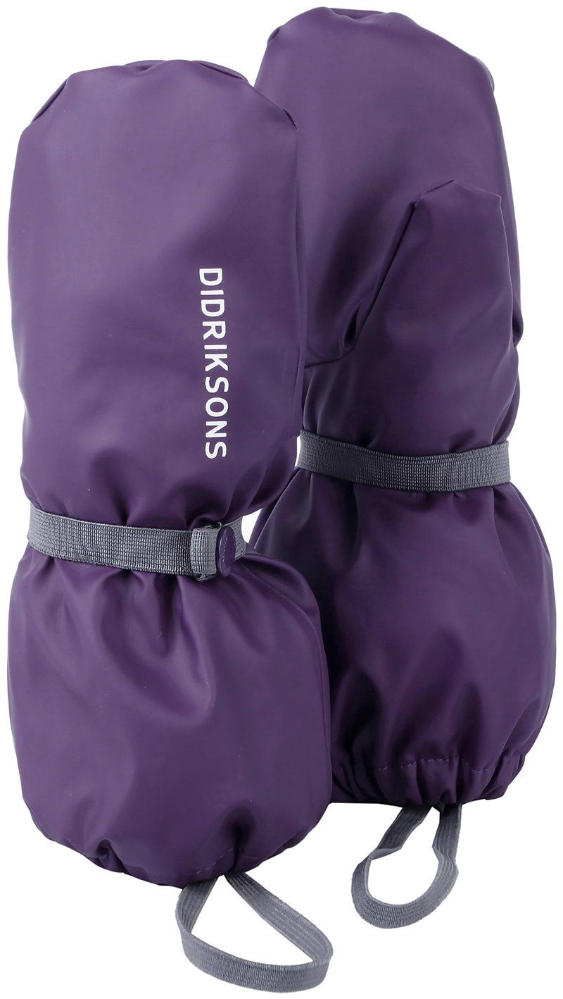 Image of   Luffer fra Didriksons - Pileglove - Berry Purple