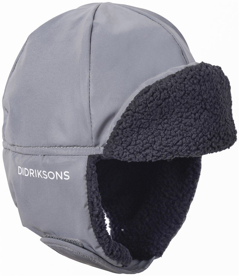 Cap fra Didrikssons - Biggles Reflective - Silver