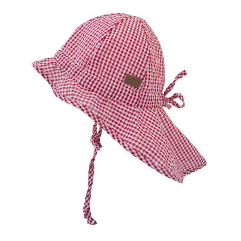 Image of   Legionærhat fra Melton UV30+ - Soft - Røde tern
