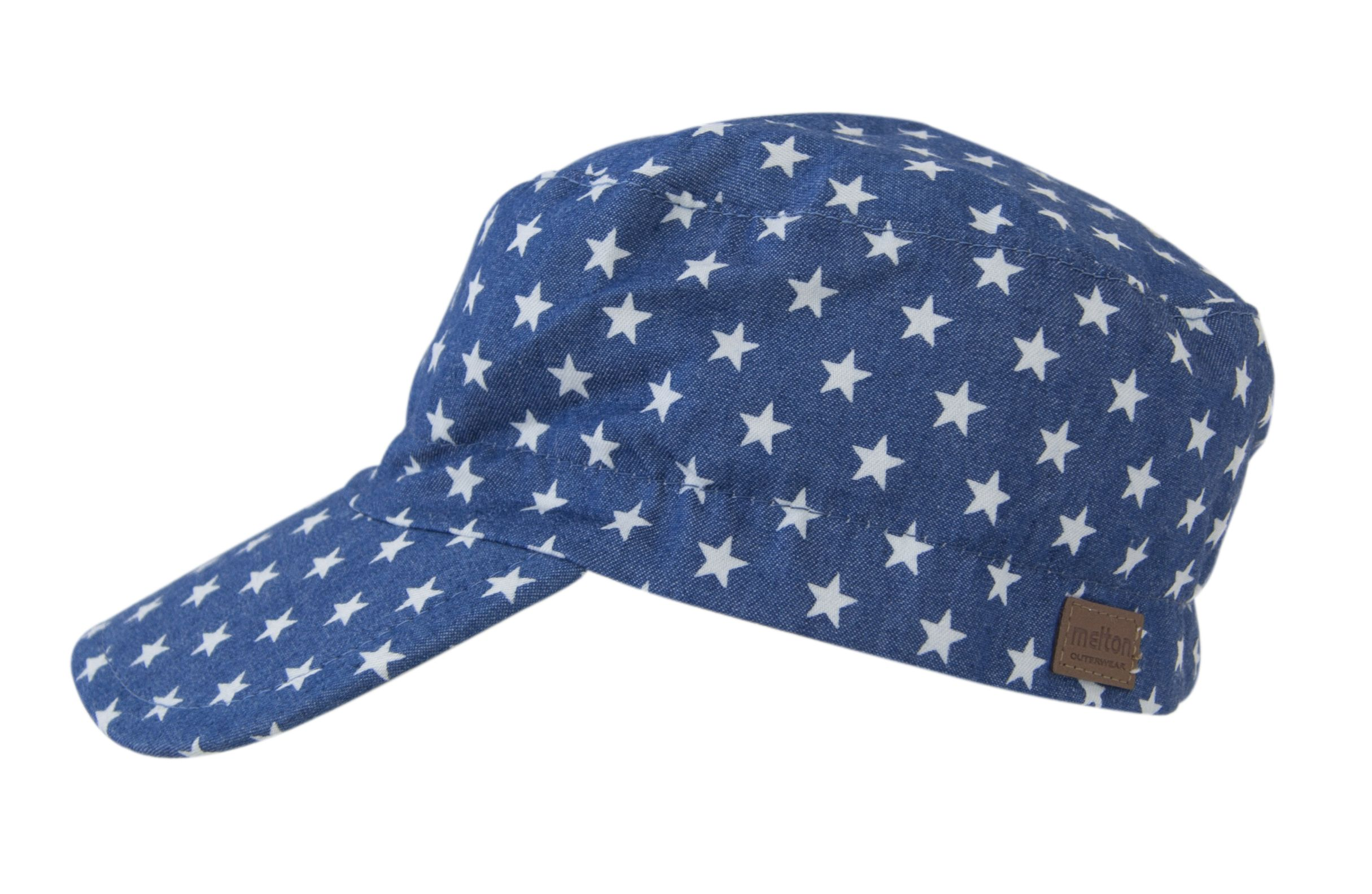 Sun Cap fra Melton - Kasket - Denim Star