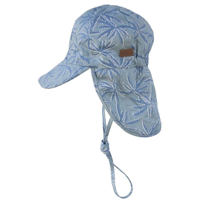 Image of   Legionærhat fra Melton UV30+ - Cap - Blue Hawaii