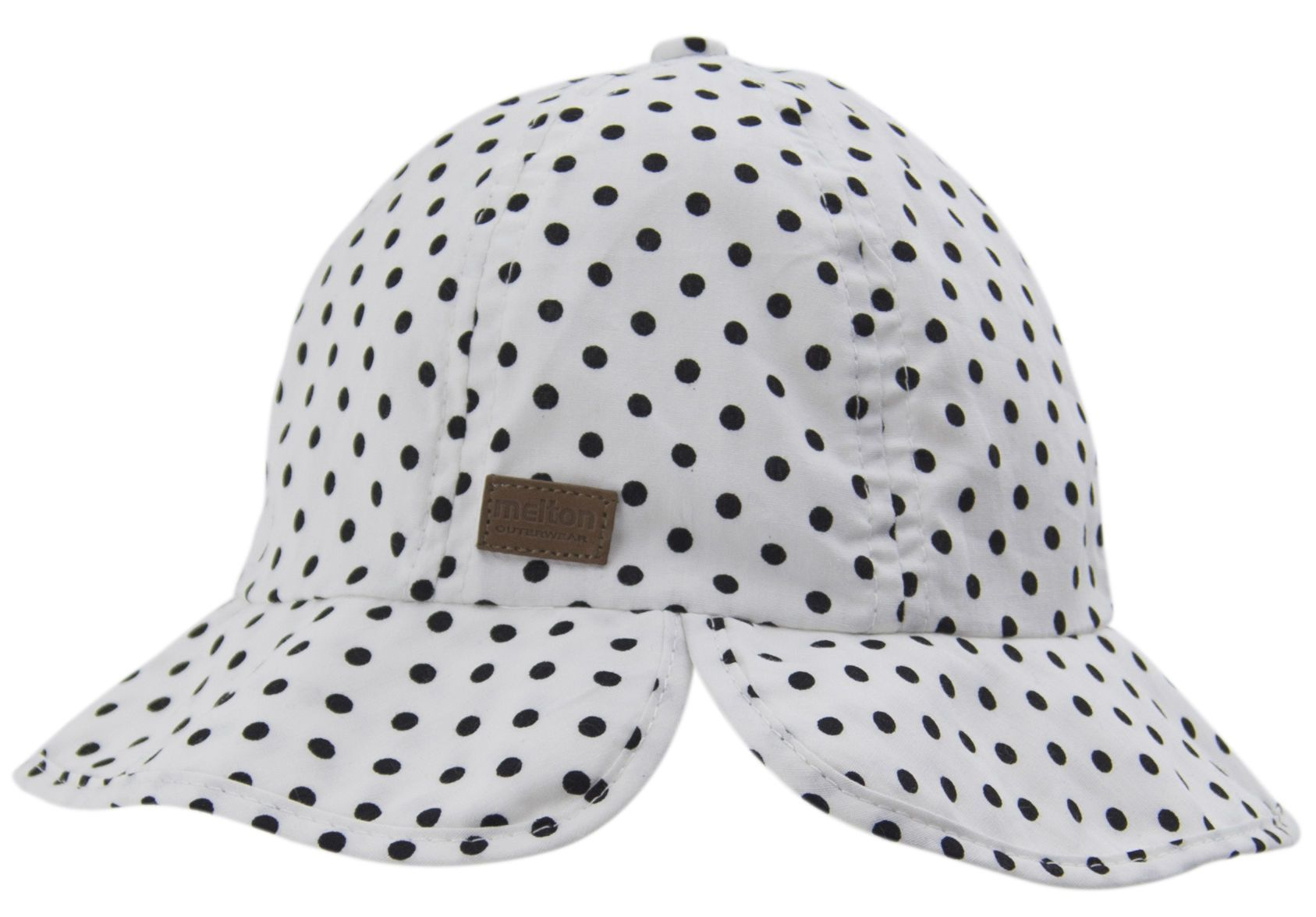 Image of   Girly bøllehat Melton UV30+ - Classic Dots
