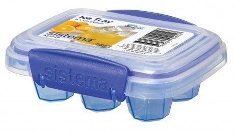 Image of Frostboks til babymad - Sistema Ice Tray Klip-IT - Lille (51440)