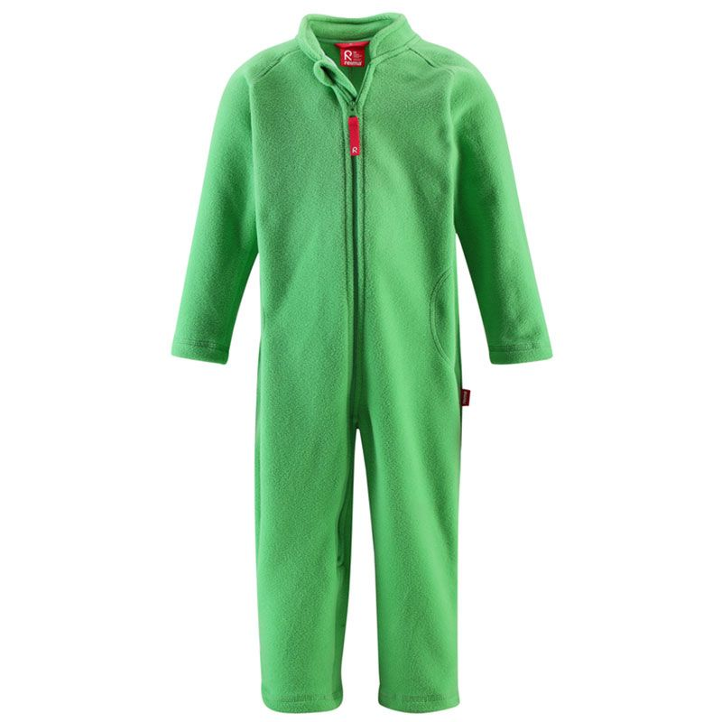 Image of   Fleece dragt fra Reima - Ross - Bright Green