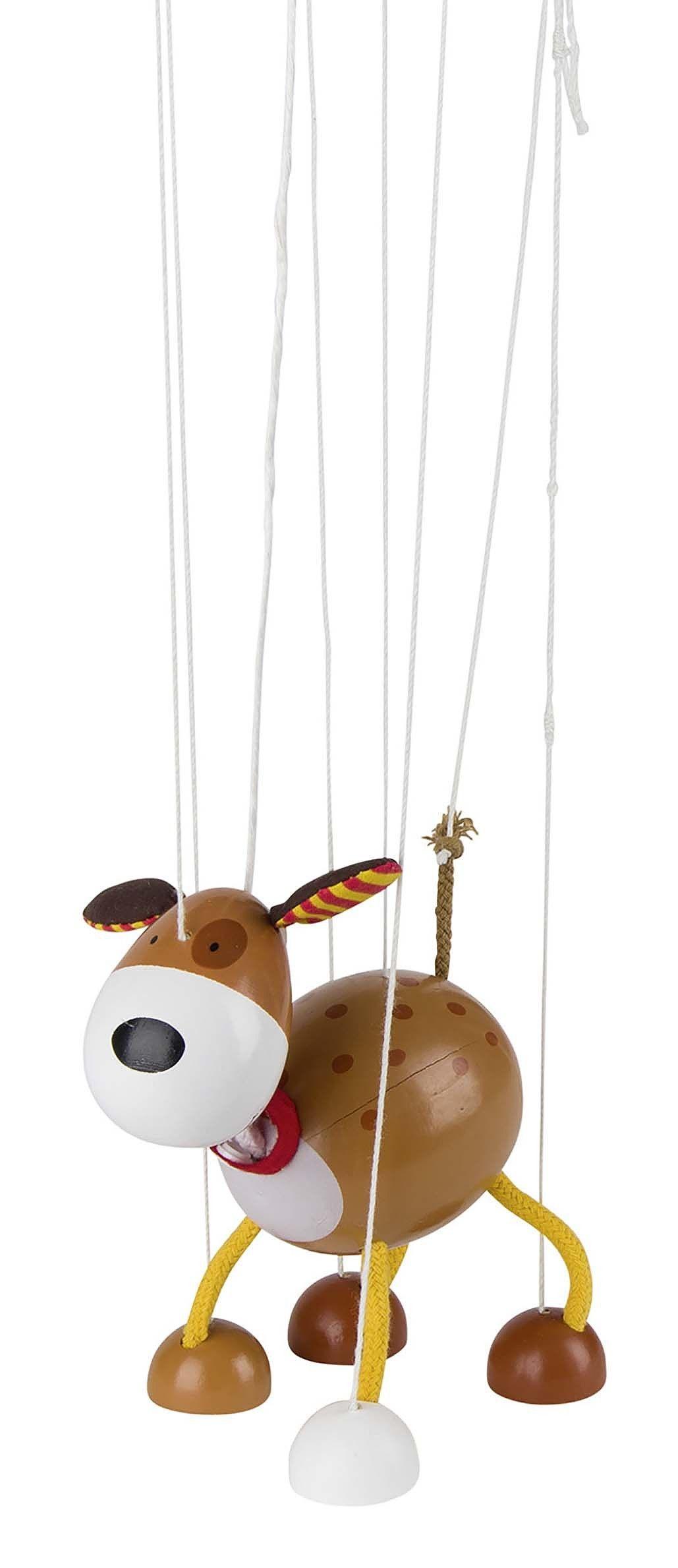 Marionetdukke fra goki - hund fra Goki på babygear.dk