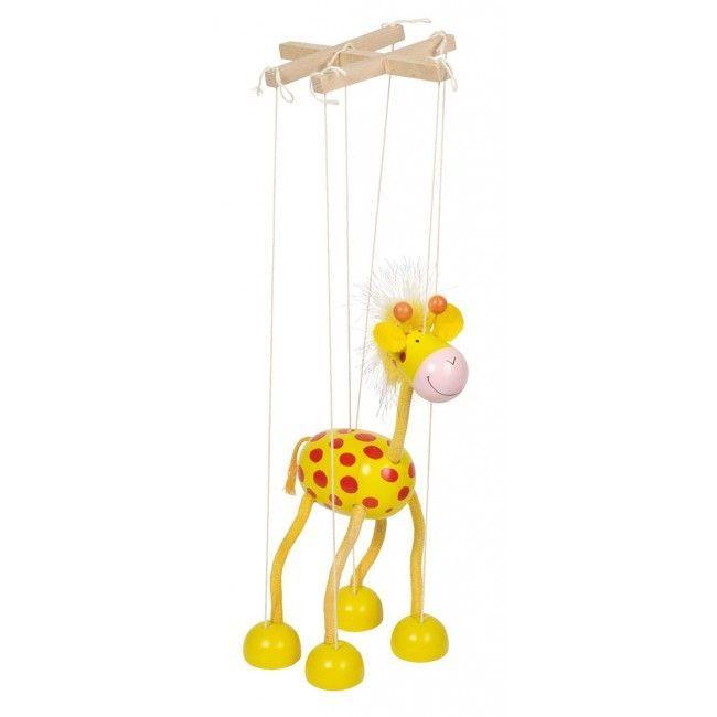 Image of Marionetdukke fra Goki - Giraf (51867)