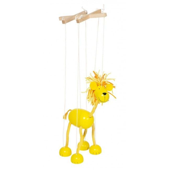 Marionetdukke fra Goki - Løve