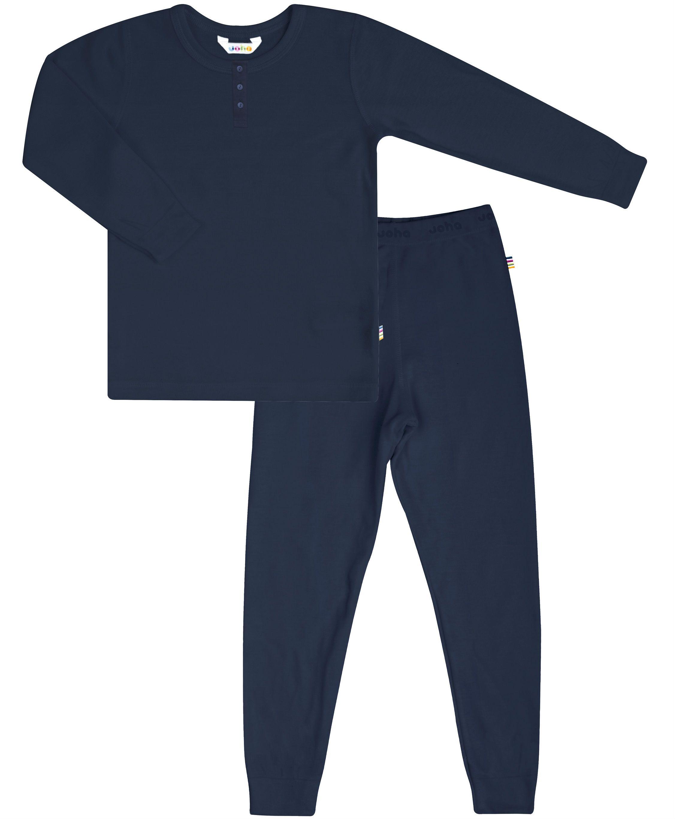 Image of   Pyjamas fra Joha - Bambus - Mørkeblå