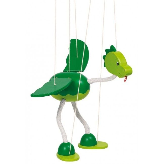 Marionetdukke fra Goki - Dinosauer