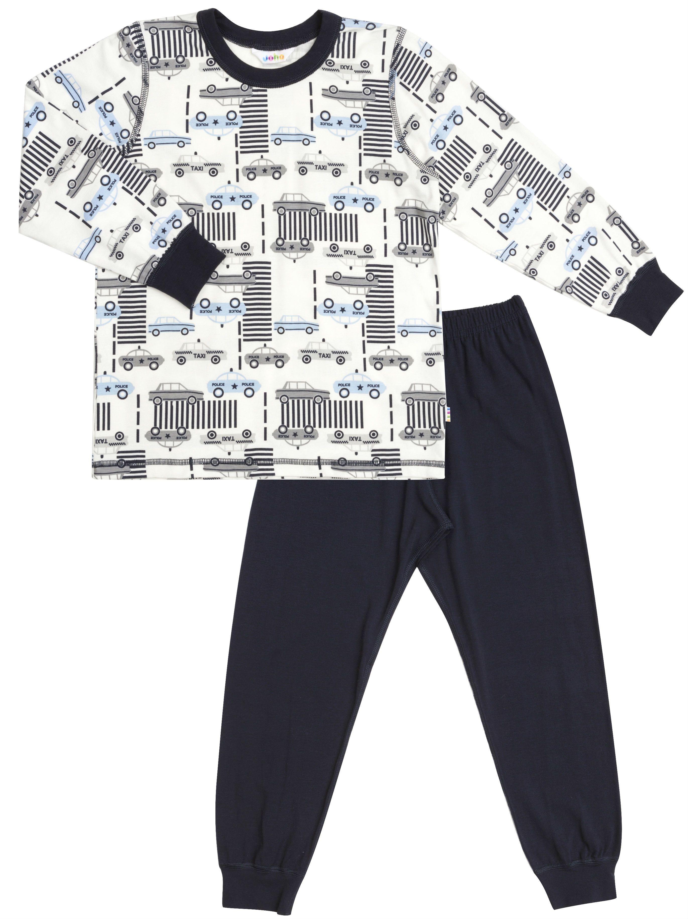 Image of   Pyjamas fra Joha - Bambus - Police