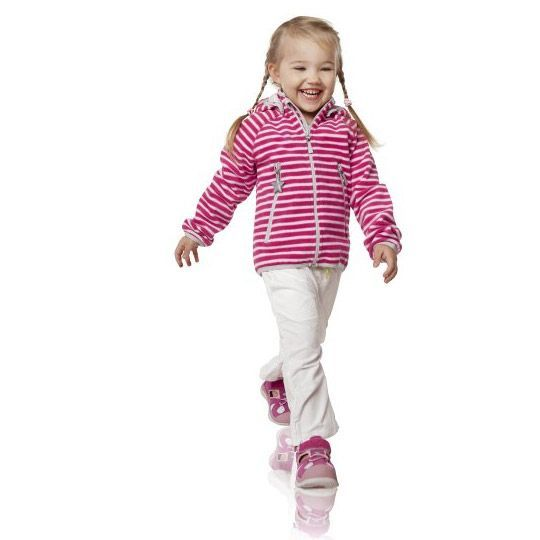 Image of   Fleece jakke / Windbreaker fra Reima - Kortteli - Pink