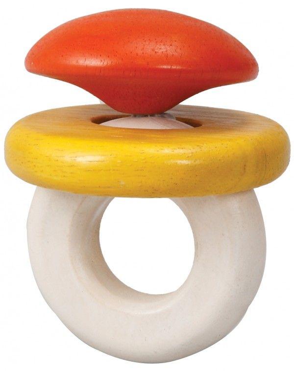 Billede af Klik-klak rangle fra Plantoys - Bæredygtigt legetøj